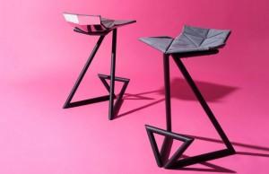 krzesła do kuchni w kształcie litery z, nowoczesne meble
