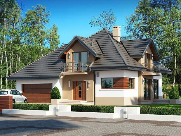 Projekt domu Opałek II N 2G BSB1079. Źródło: Extradom